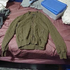 Lucky brand vintage style bomber jacket